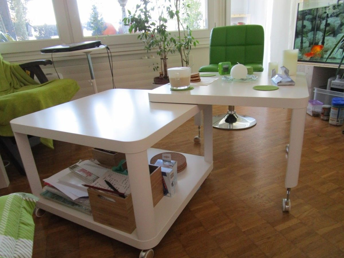 Double multiposition Tingby Coffee table Coffee Ikea hackers and