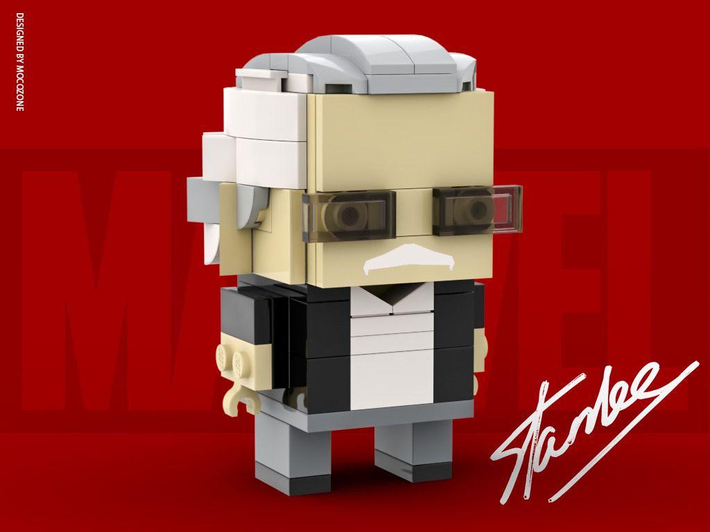 Stan Lee Brickheadz New