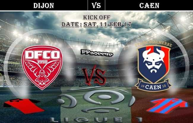 Dijon Vs Caen Prediction 11 02 2017 Ppsoccer Soccer Predictions Sc Bastia Soccer World