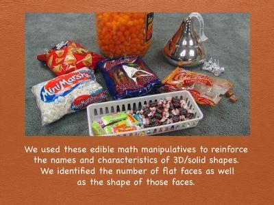 edible 3D shapes