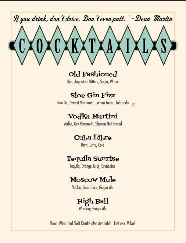 casino cocktail party ideas