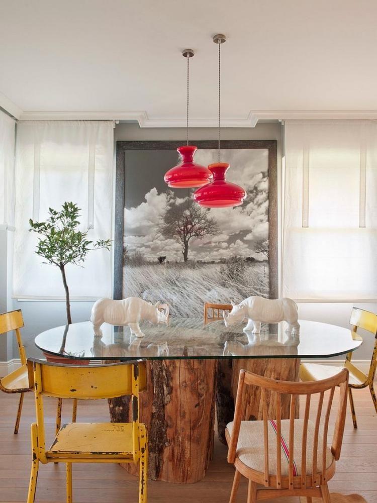 Décoration salle à manger éclectique en 25 photos top
