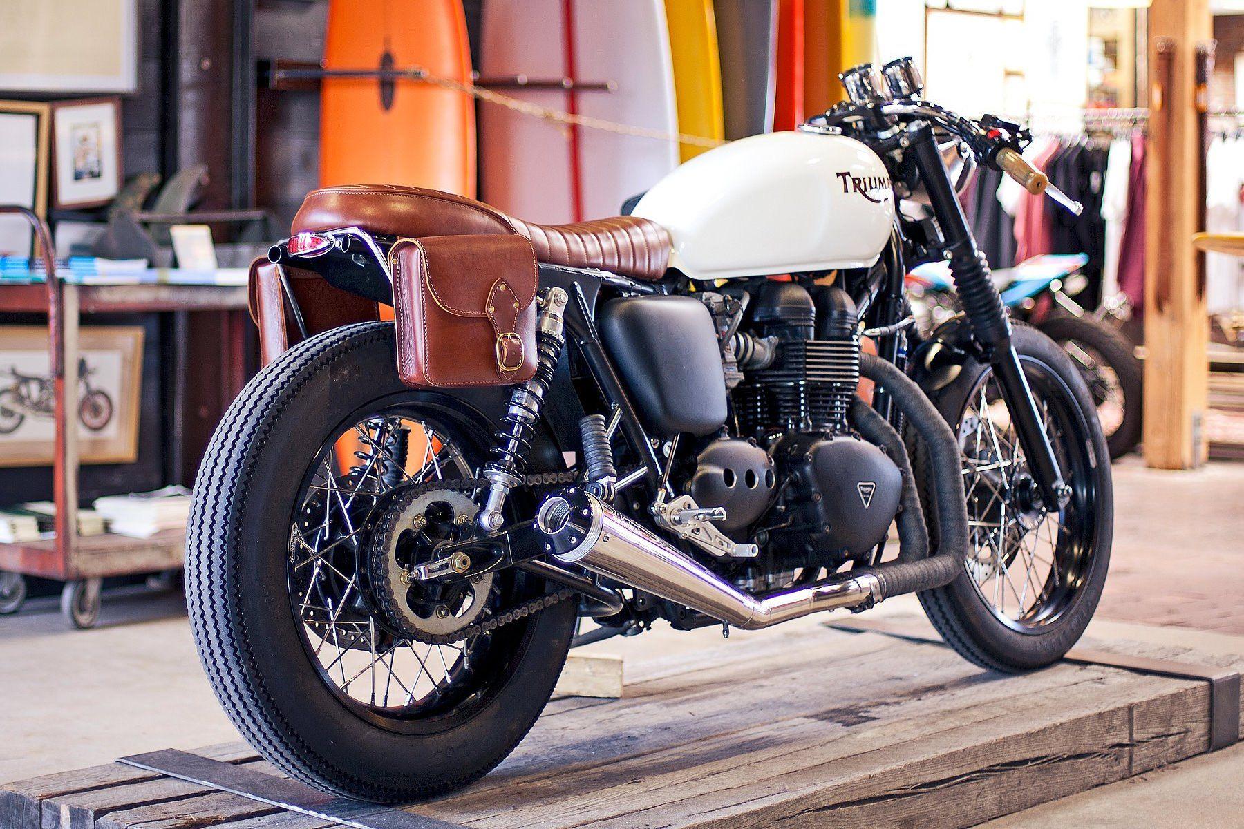 Classic Triumph Café Racer
