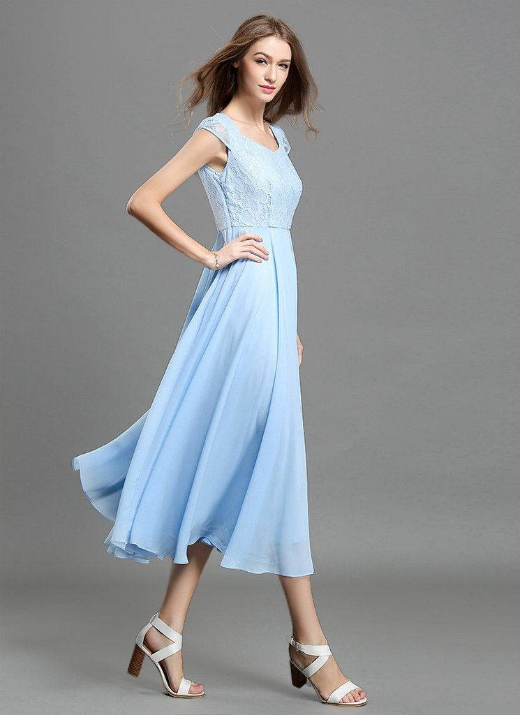 blue collections sleev prom lace cap light long chiffon top designer dresses dress sleeves bridesmaid with original products illusion sleeve