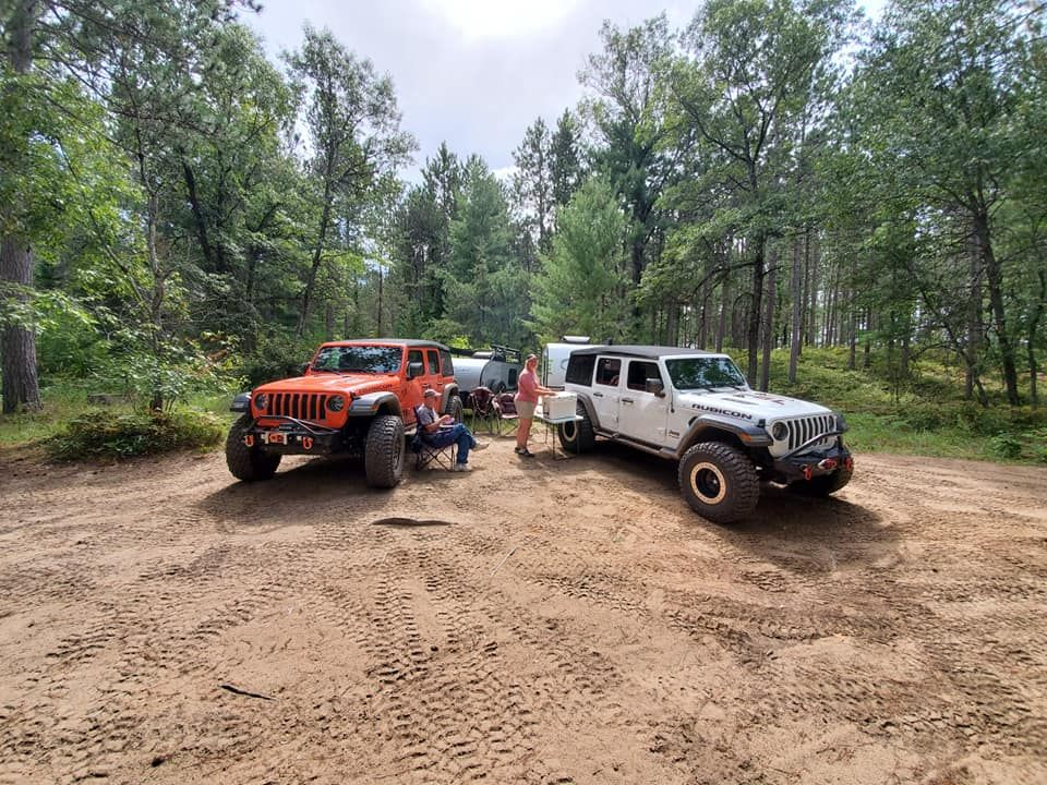 Same Jeeps and trailers from last post, different location