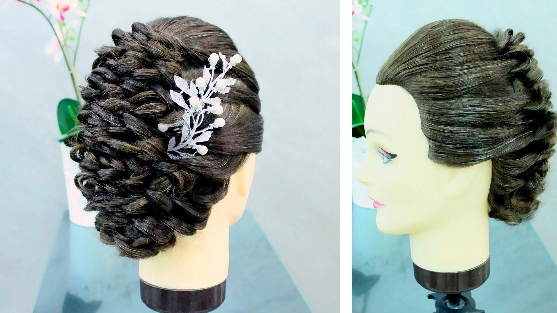 Loop braid hairstylesimple updo for long hair hairrrr uc