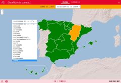 Gentilicios De Comunidades Autónomas De España Comunidades Autonomas De Espana Mapa De España Juegos De Ciencia