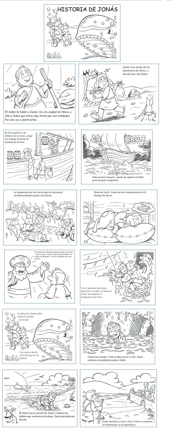 linda historia de la biblia para niños | dibujos personajes bíblicos ...
