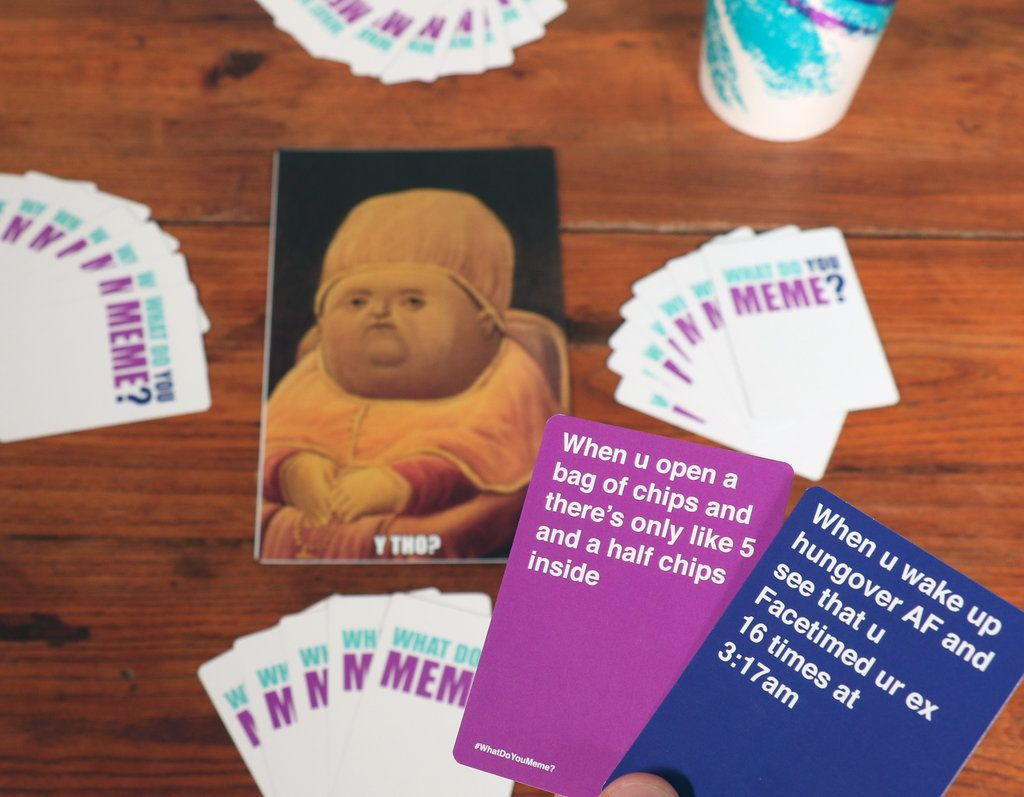 F Ckjerry Just Created A Card Game For Memes What Do You Meme Card Games You Meme