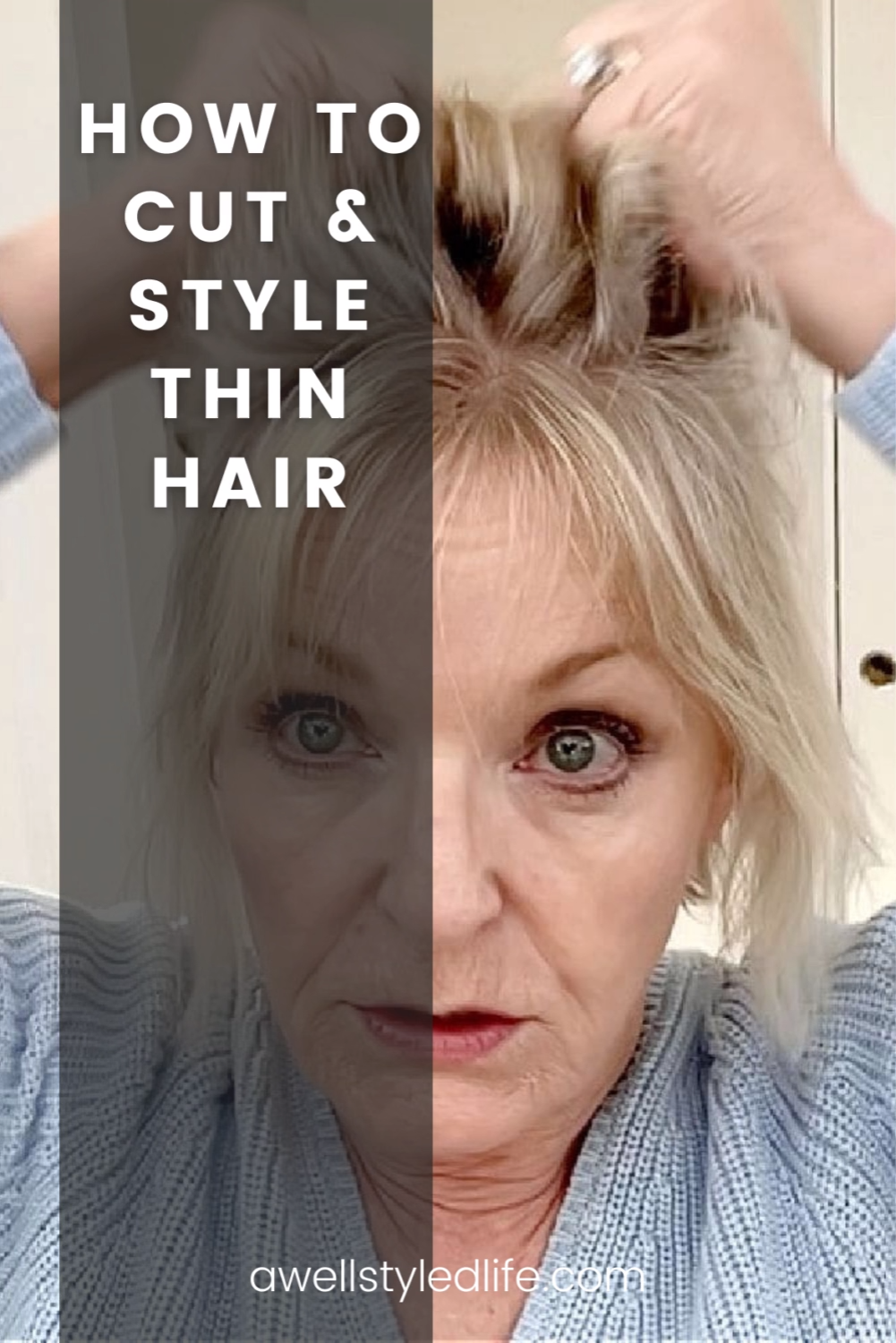 How to Cut and Style Thin Hair