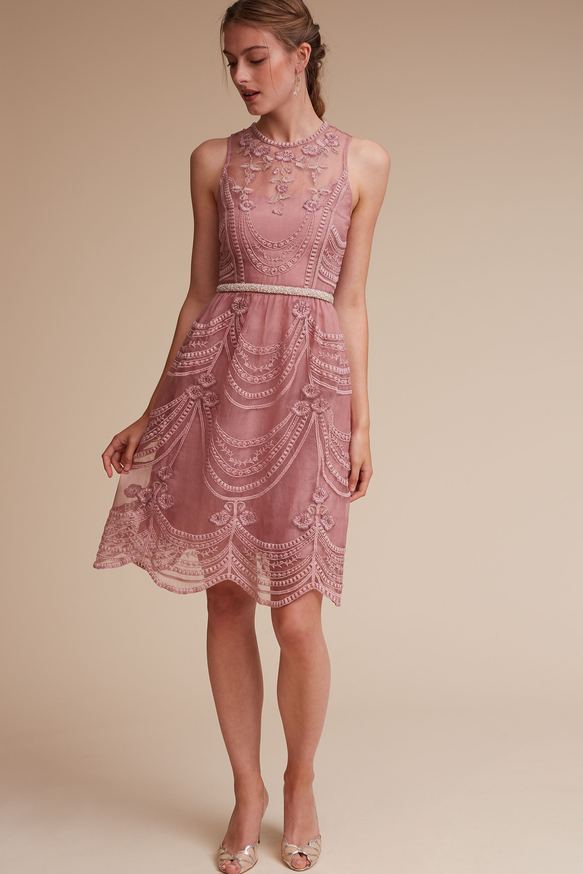 Wedding day guest dresses  Anessa Dress from BHLDN  For your friends on your special day