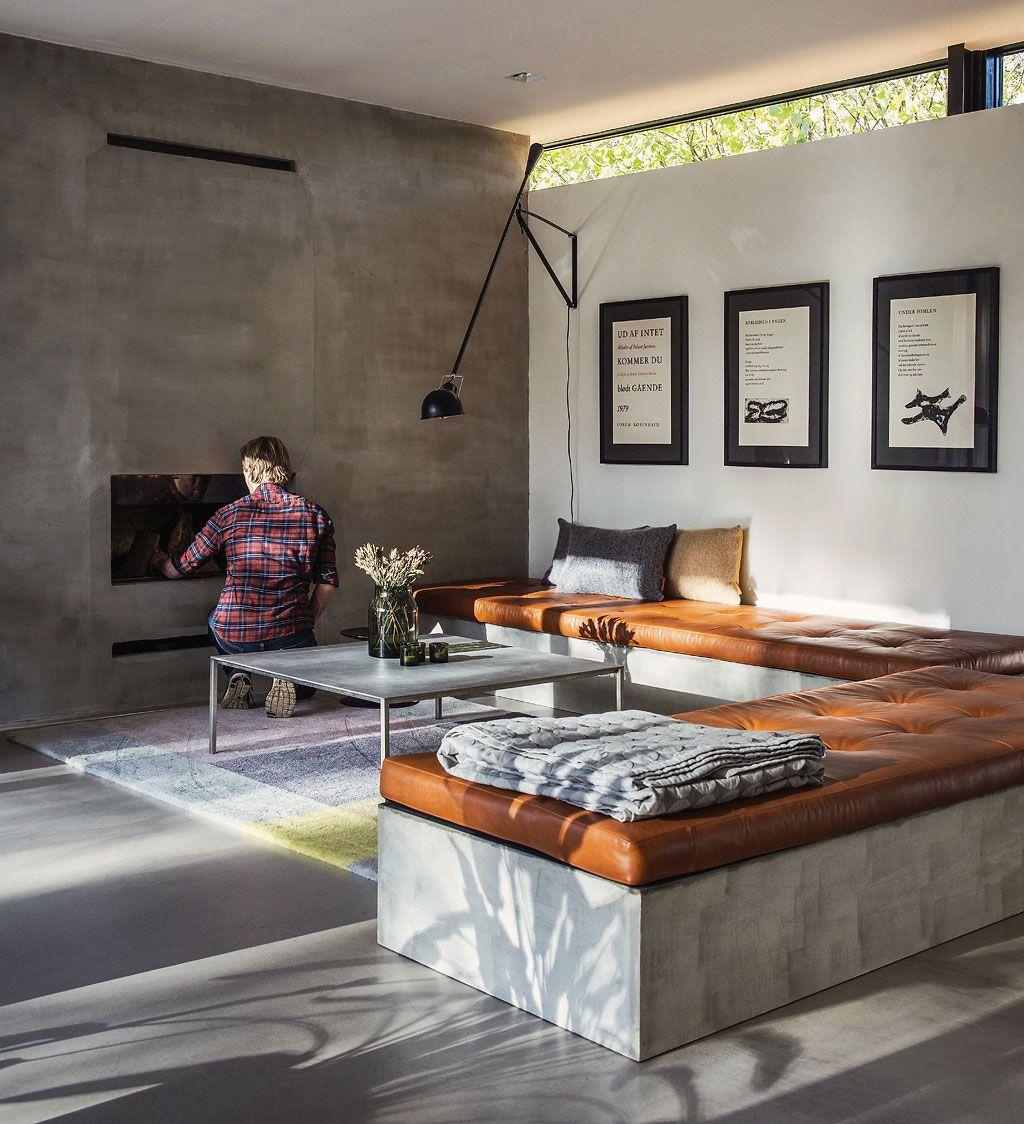 16 Mal, als Betonböden Wohnzimmer sehen atemberaubend | Pinterest ...