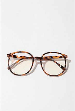 Oversized Round Readers - Urban Outfitters