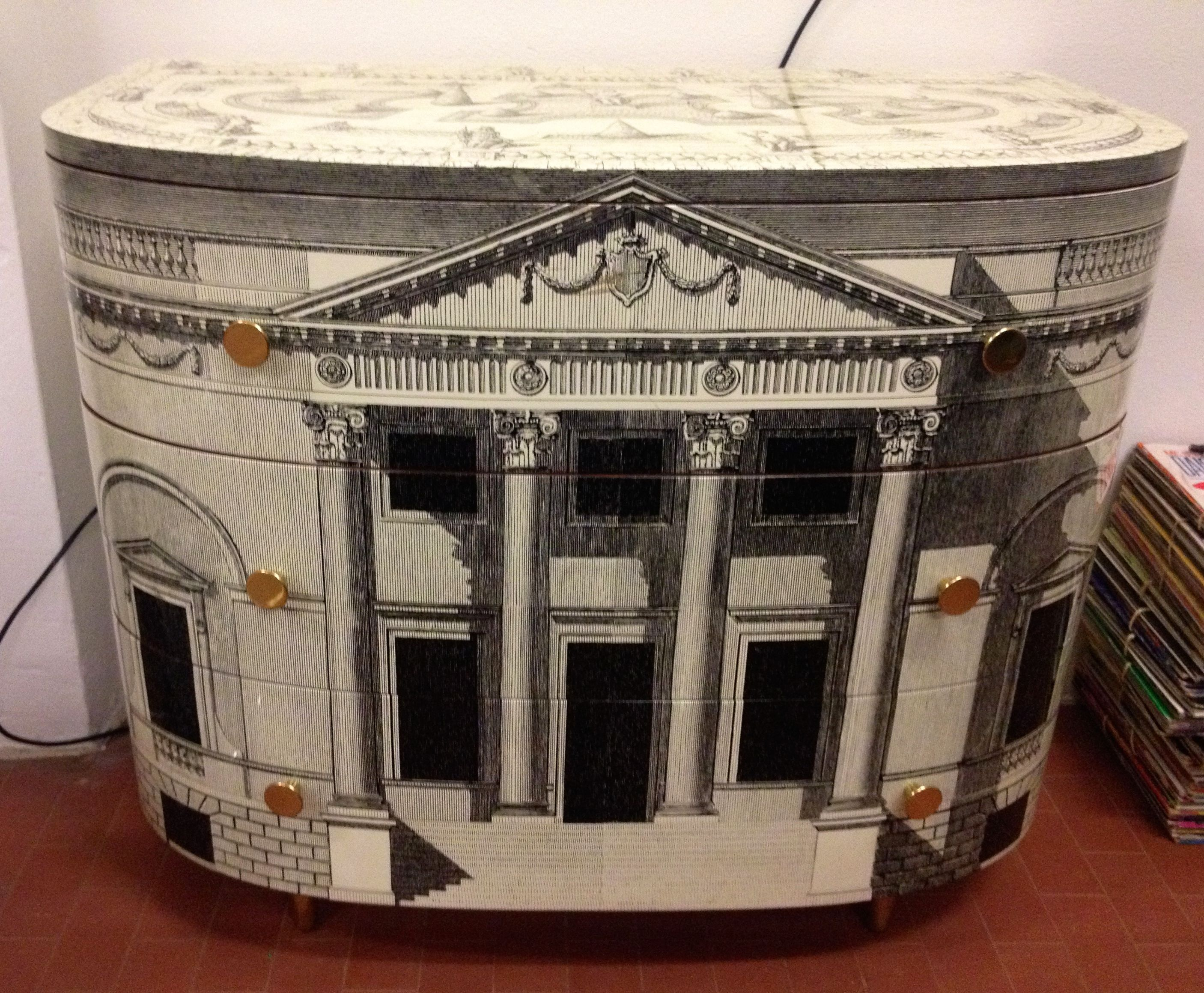 Cassettiera fornasetti collezione mobili pinterest - Fornasetti mobili ...