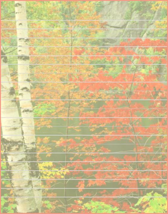 Papier lettre automne gratuit imprimer papiers scrap pinterest - Image automne gratuite imprimer ...