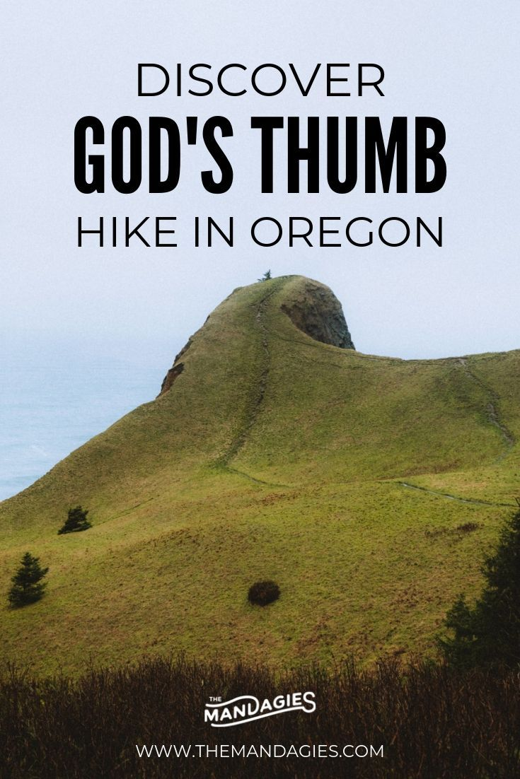 Hike To God's Thumb in Lincoln City On The Oregon Coast - The Mandagies
