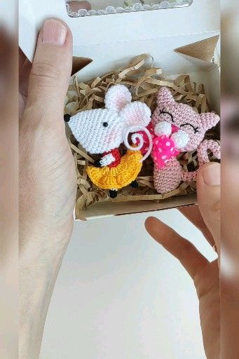 Photo of Amigurumi animal brooch crochet patterns, crochet tutorials, crochet brooches pattern, pdf/eng