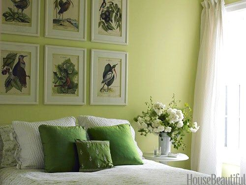 Bud green | Gentle GREEN | Pinterest | Bedrooms, Green walls and ...
