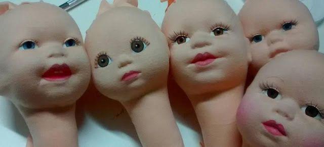 Eu Amo Artesanato Boneca De Cabeca Revestida Passo A Passo Em