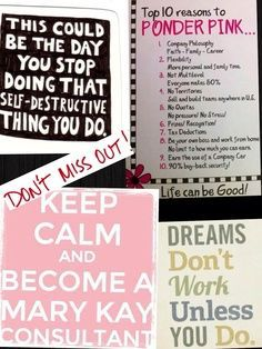 Become a mary kay consultant