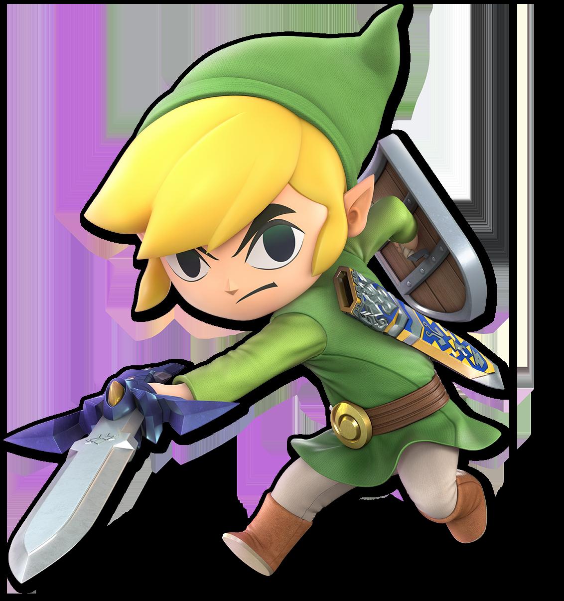 Toon Link as he appears in Super Smash Bros  Ultimate