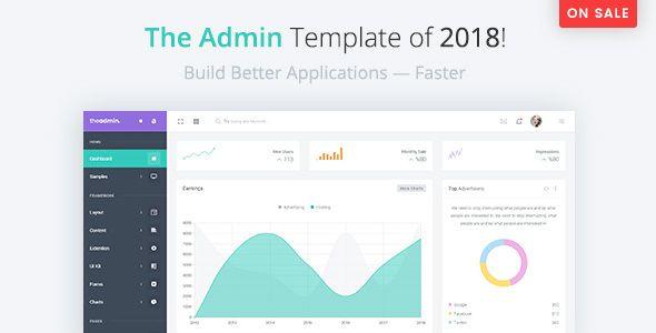 TheAdmin - Responsive Bootstrap 4 Admin, Dashboard & WebApp Template