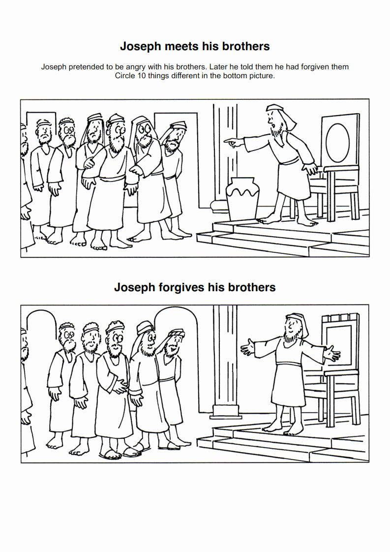 Joseph And His Brothers Coloring Page Fresh 46 Coloring Pages Joseph And His Brothers Joseph Joseph Crafts Bible Crafts Bible Story Crafts