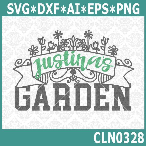 Garden Banner Name Frame