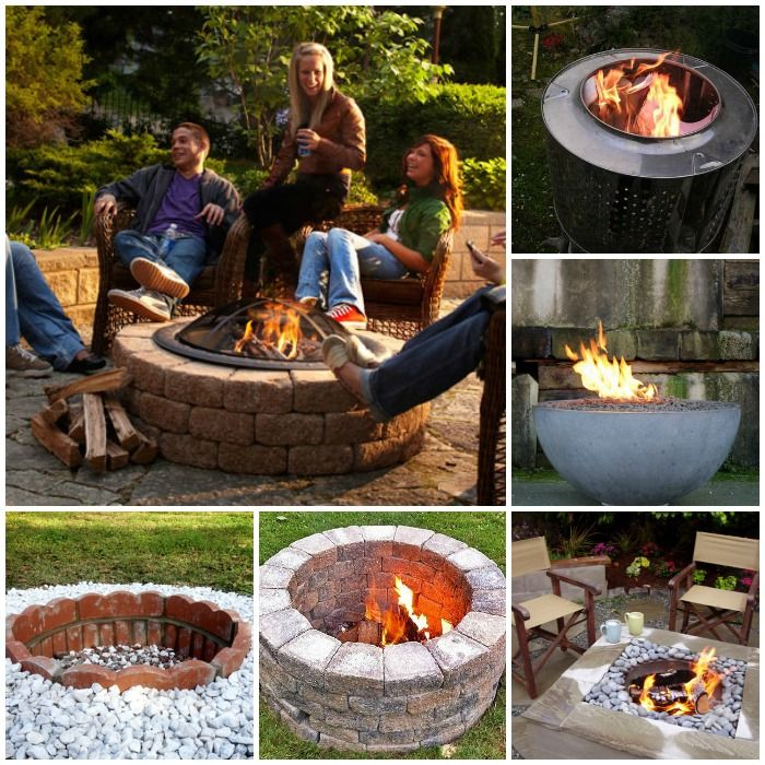 11 of the Best DIY Fire Pit Ideas for Your Backyard | Diy ...