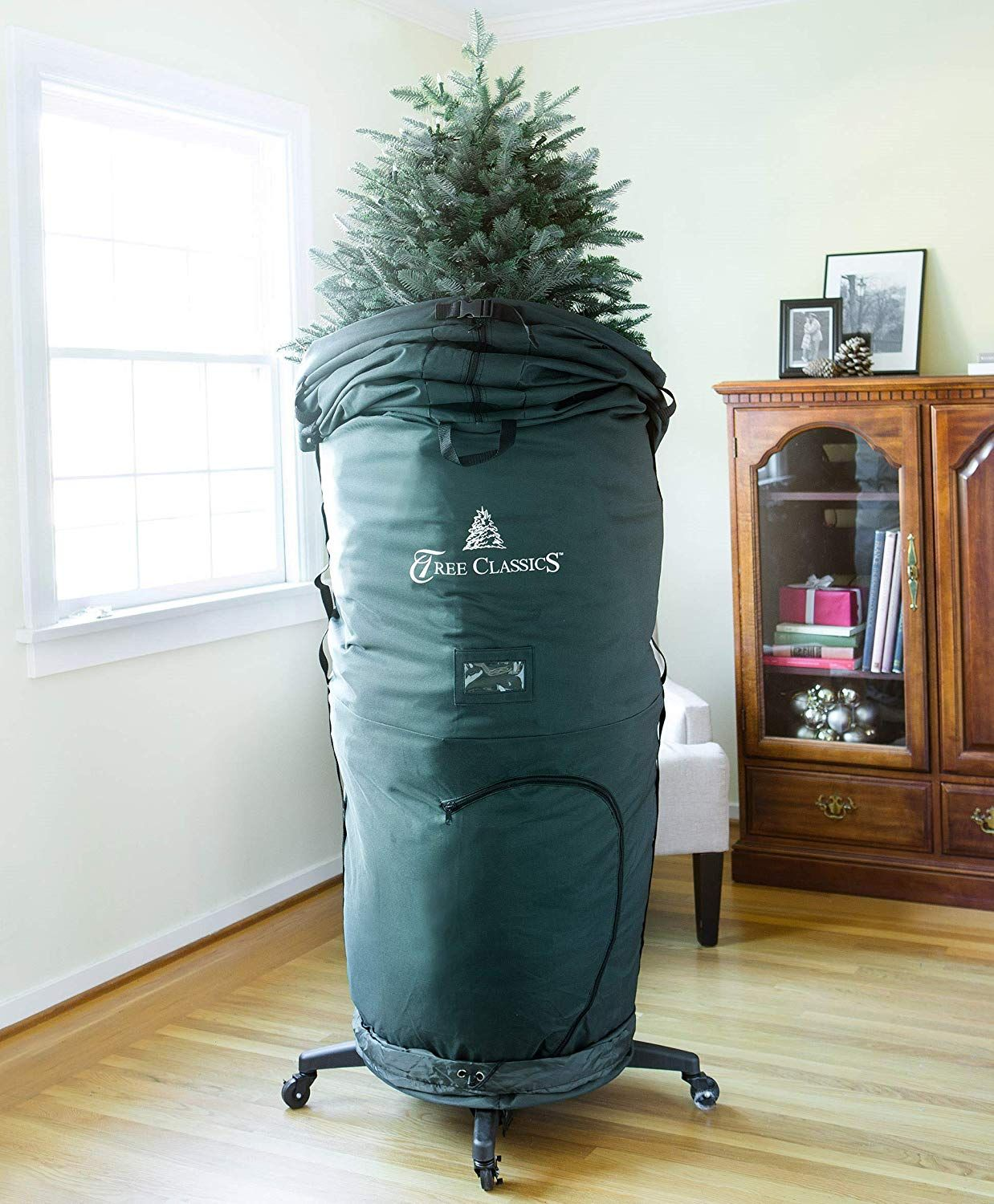 Tree Classics Deluxe Rolling Tree Storage Bag 9 Feet More Info Could Be Found At The Image Url This Tree Storage Bag Christmas Tree Storage Bag Storage Rolling christmas tree storage bag