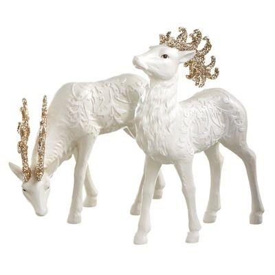 CBK Large Deer Figurine