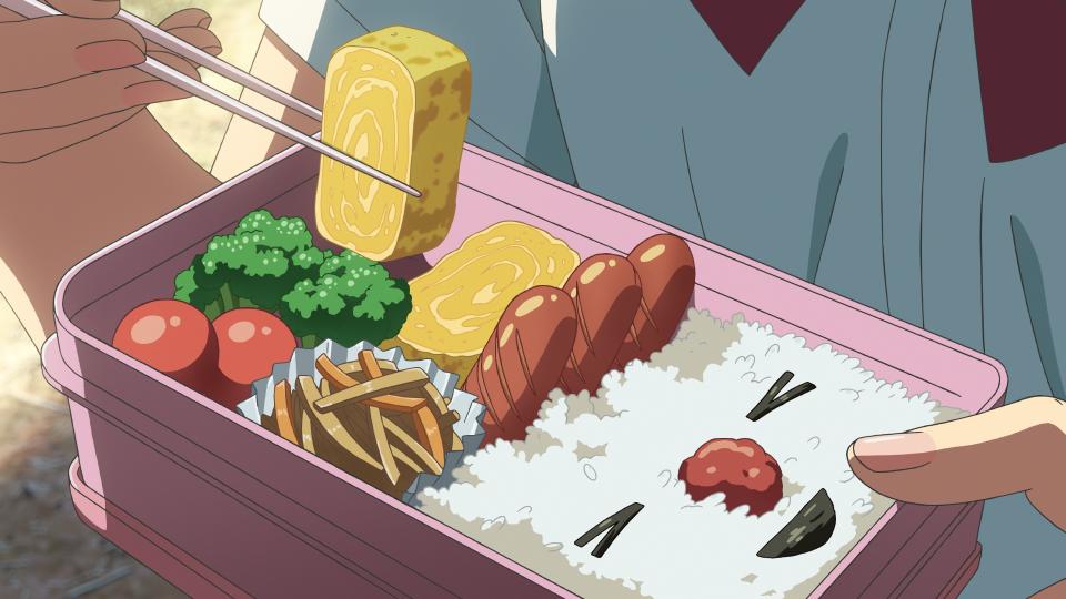 新メニューも 君の名は カフェ が池袋に再open macaroni アニメ弁当 美的アニメ 食べ物 イラスト