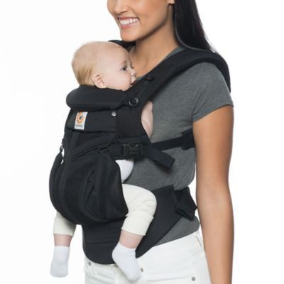 a67309602f9 Ergobaby Omni 360 Cool Air Mesh Baby Carrier In Black