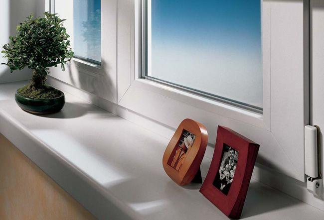 Fensterbänke innen – Schlichte Fensterbänke innen | Windows ...