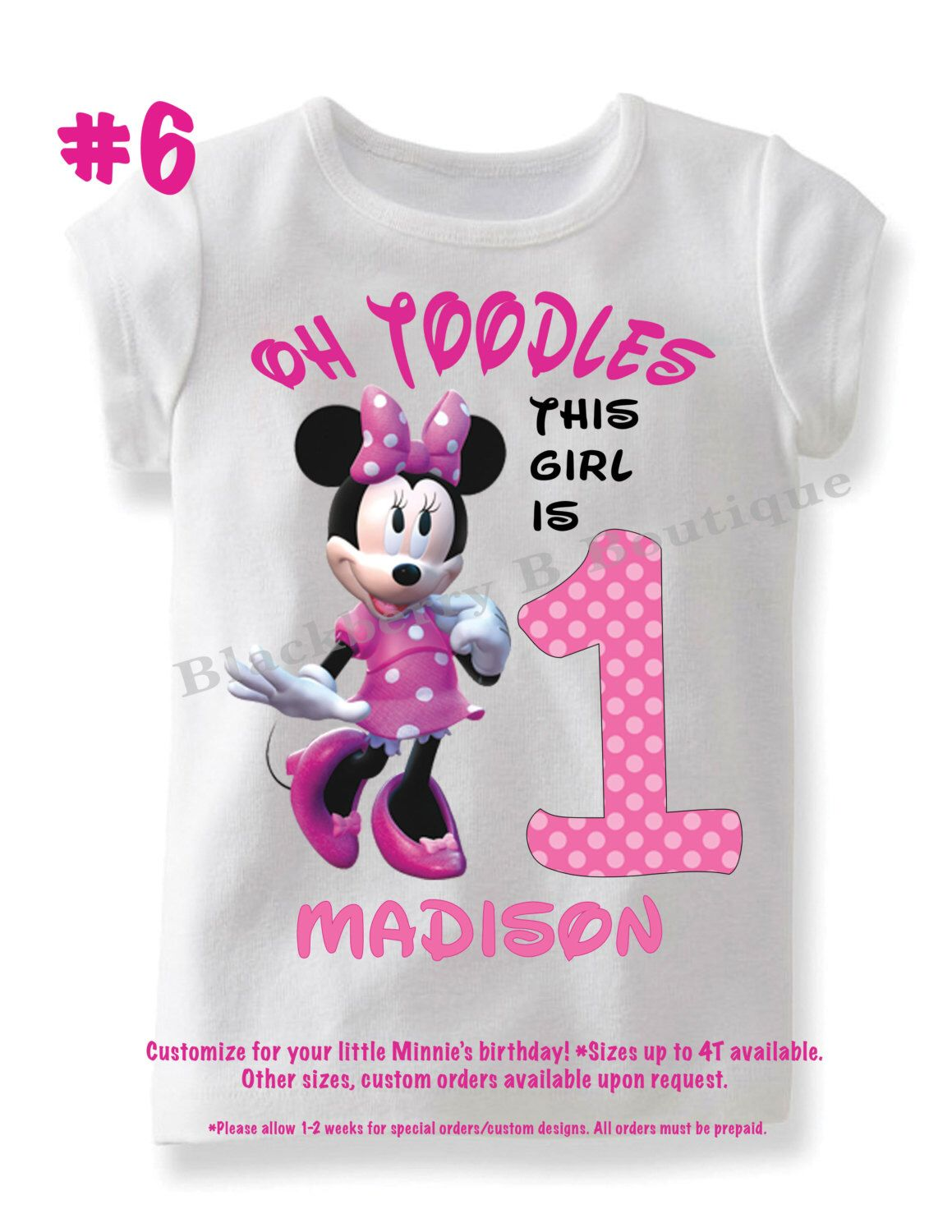 Pin On Addison 1 Bday Minnie Mouse