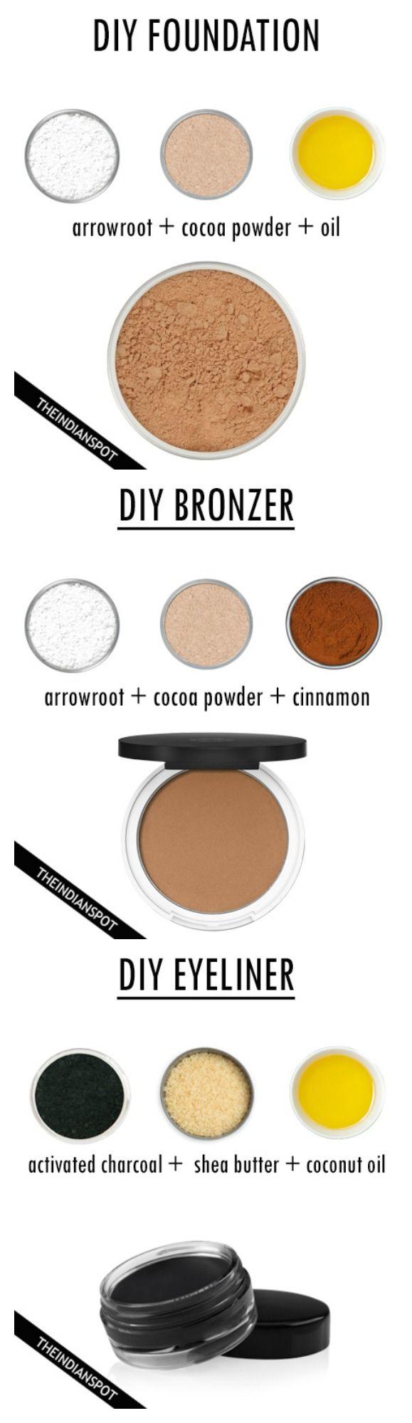 Diy All Natural Makeup Diy Natural Makeup All Natural Makeup Diy Makeup