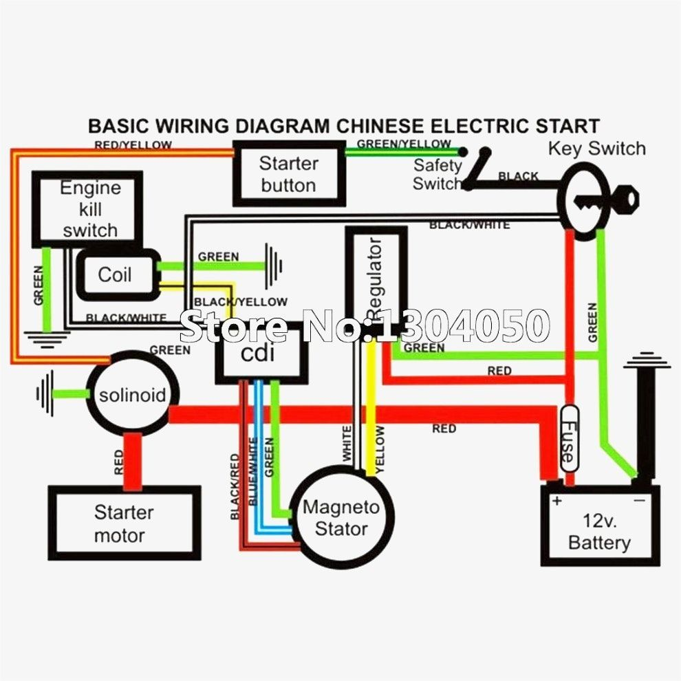 Unique Wiring Diagram For Chinese 110cc Atv Wiring Diagram Chinese Atv Wiring Diagrams Roketa 11 In 2020 Electrical Diagram Motorcycle Wiring Electrical Wiring Diagram