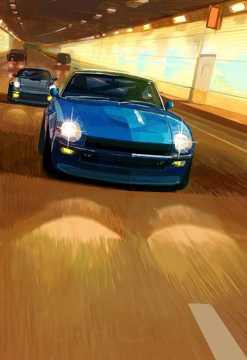 車 おしゃれまとめの人気アイデア Pinterest James Taylor フェアレディ 車 絵 車の壁紙