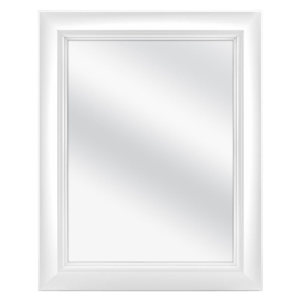 Home Decorators Collection 24 In W X 30 In H Fog Free Framed Recessed Or Surface Mount Bathroom Medicine Cabinet In White 45422 The Home Depot Bathroom Medicine Cabinet Top Bathroom Design