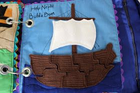 Get Your Craft On: Quiet Book Week- Build Nephi's Boat