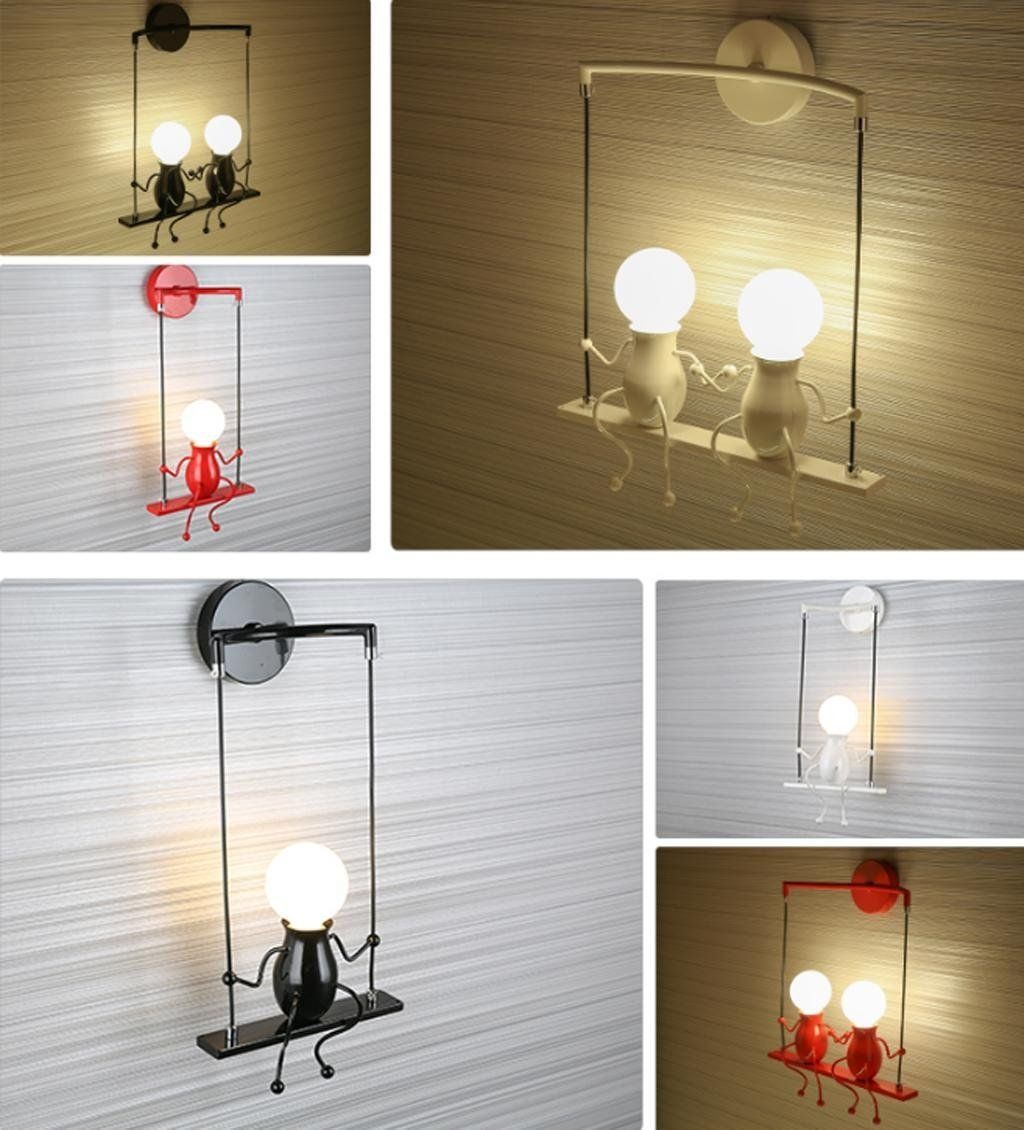 Modern Wandleuchte Kreativ Einfachheit Design Leuchten Innen Beleuchtung Kinder Lampe Wandbeleuchtung Wandlampe Fur Wandbeleuchtung Led Wandleuchten Wandlampe