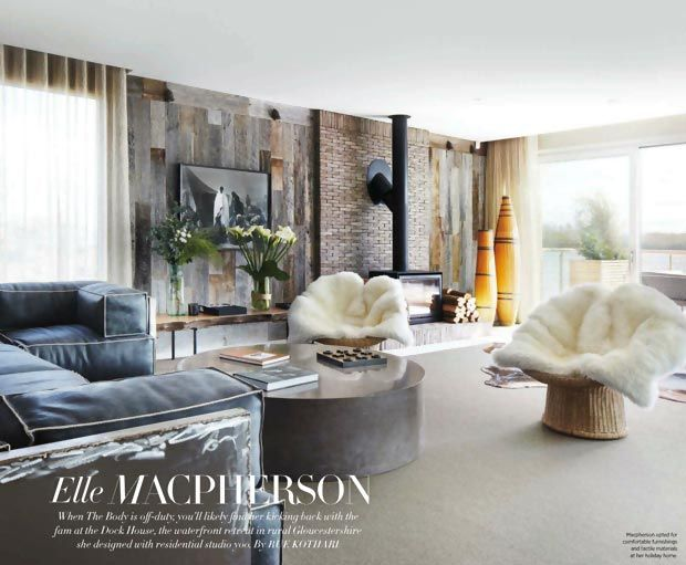 Elle macpherson home interior in cotswolds home decor for Elle house