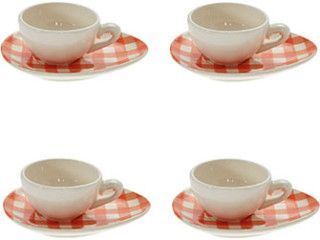 Nigella Lawson Cream Espresso Cup Set Bargain Price: Was £30.50 | Now £8.00 http://www.bucksme.com/product/nigella-lawson-cream-espresso-cup-set/