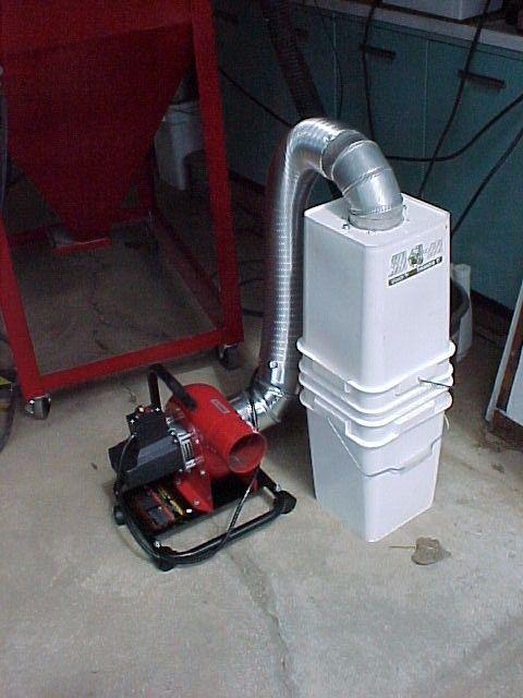 Blasting Cabinet Clean Air Vacuum