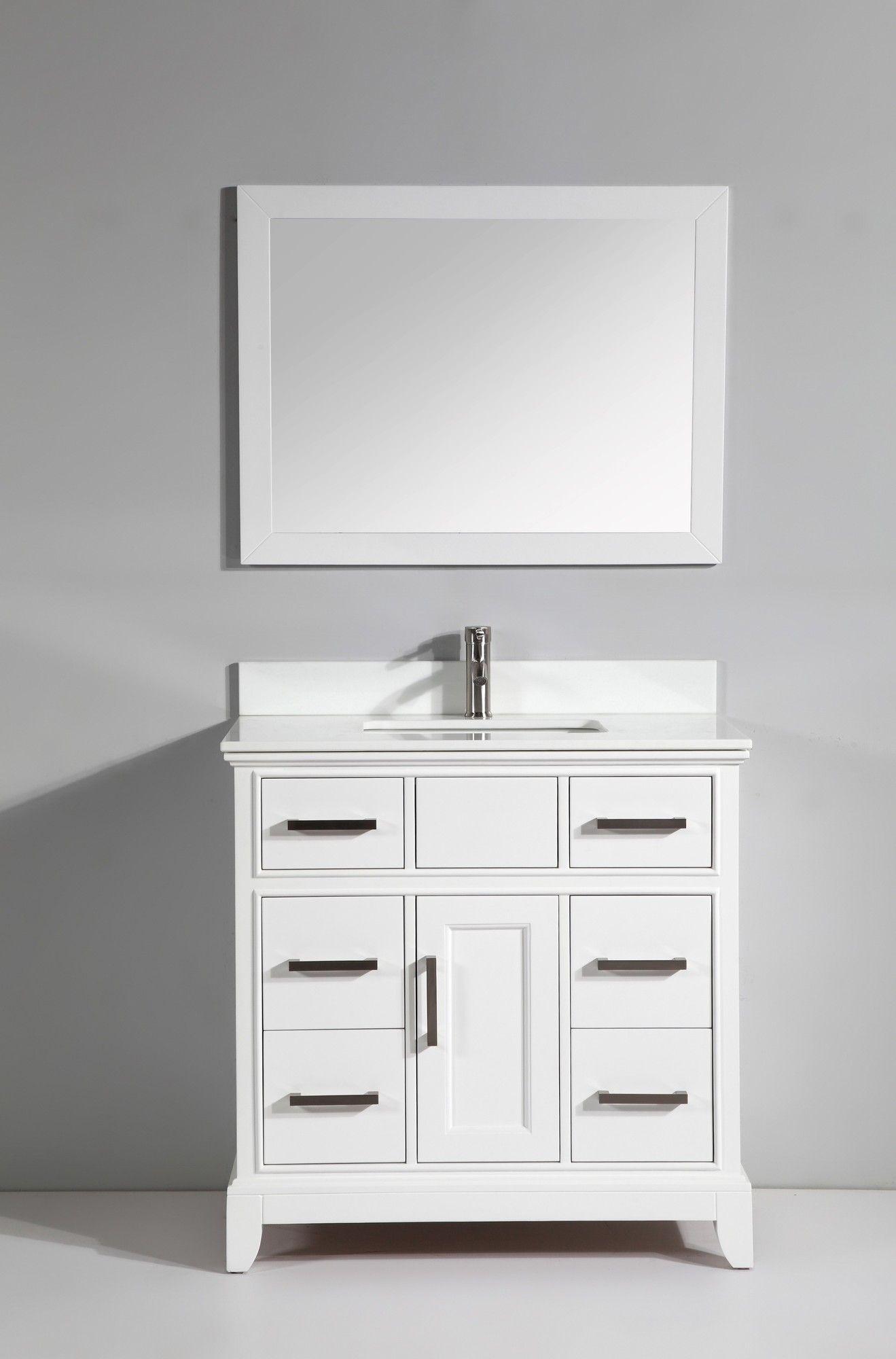 Modena 24 Single Bathroom Vanity Set Bathroom Sink Vanity