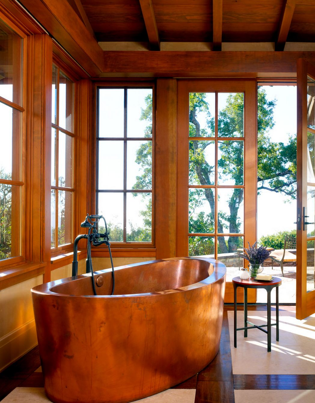 ARTmetal © ideas. www.aias.se Copper Soaking Tub by Diamond Spas ...