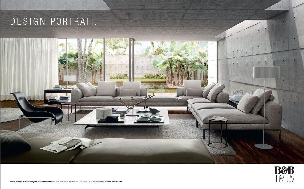 NEW ADVERTISING CAMPAIGN B&B ITALIA | Interior Design | Pinterest ...