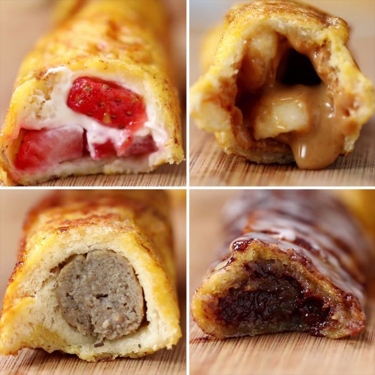 French Roll-Ups Four Ways