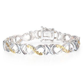 Tennis Bracelet Diamond Tennis Bracelet 1 10 Carat Diamond Xo Infinity Bracelet Overlay Best Jewelry Deals Diamond Amazing Jewelry Jewelry