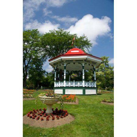 Nova Scotia Victorian City Garden Canvas Art - Cindy Miller Hopkins ...